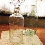 古い瓶 ビン ボトル (クリア) メモリ